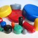 Coperchi e tappi di plastica